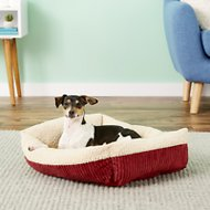 Aspen Pet Self Warming Pet Bed, Warm Spice/Cream, 24-in