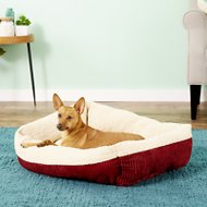 Aspen Pet Self Warming Pet Bed, Warm Spice/Cream, 30-in