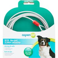 Aspen Pet Medium Tie-Out Cable, 10-ft