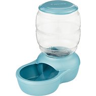 Petmate Pearl Replendish Feeder With Microban, Blue, 2-lb