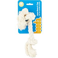 Booda 2 Knot Rope Bones for Dogs, Small