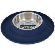 Wetnoz Flexi Dog Bowl, Indigo, Small