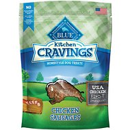 Blue Buffalo Kitchen Cravings Chicken Sausages Dog Treats, 6-oz bag