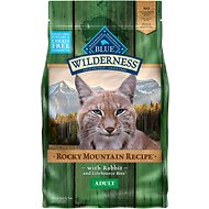 Blue Buffalo Wilderness Rocky Mountain Recipe with Rabbit Adult Grain-Free Dry Cat Food, 4-lb bag