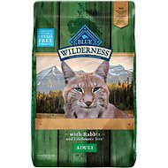 Blue Buffalo Wilderness Rocky Mountain Recipe with Rabbit Adult Grain-Free Dry Cat Food, 10-lb bag