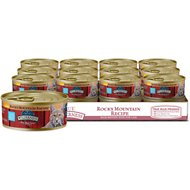 Blue Buffalo Wilderness Rocky Mountain Recipe Flaked Red Meat Feast Adult Grain-Free Canned Cat Food, 5.5-oz, case of 24