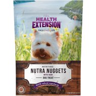 Health Extension Nutra Drops Nuggets Grain-Free Dog Treats, 4-oz bag