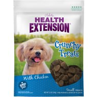 Health Extension Small Heart-Shaped Dog Treats, 12-oz bag