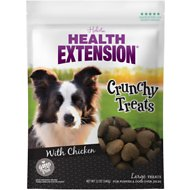 Health Extension Large Heart-Shaped Crunchy Dog Treats, 12-oz bag