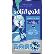 Solid Gold Barking at the Moon with Beef, Eggs & Peas Grain-Free Dry Dog Food, 24-lb bag