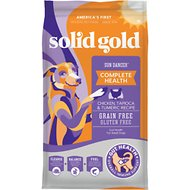 Solid Gold Sun Dancer Chicken & Tapioca Recipe with Quinoa Grain-Free Dry Dog Food, 24-lb bag