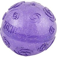 KONG Squeezz Crackle Ball for Dogs, Color Varies, Medium