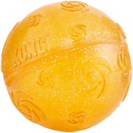 KONG Squeezz Crackle Ball for Dogs, Color Varies, X-Large