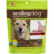Herbsmith Smiling Dog Chicken Dry-Roasted Dog Treats, 3-oz bag