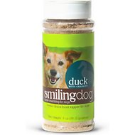 Herbsmith Smiling Dog Kibble Seasoning Freeze-Dried Duck with Oranges Dog Food Topper, 3-oz bottle
