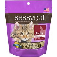 Herbsmith Sassy Cat Chicken with Apples & Spinach Freeze-Dried Cat Treats, 1.25-oz bag