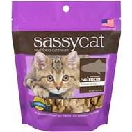 Herbsmith Sassy Cat Wild Caught Salmon Freeze-Dried Cat Treats, 0.88-oz bag