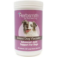 Herbsmith Sound Dog Viscosity Joint Support Large Soft Chews Dog Supplement, 120 count