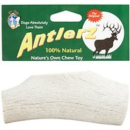 QT Dog Antlerz Natural Dog Chews, Large