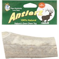 QT Dog Antlerz Natural Dog Chews, Jumbo