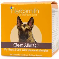 Herbsmith Herbal Blends Clear AllerQi Powdered Dog & Cat Supplement, 150g jar
