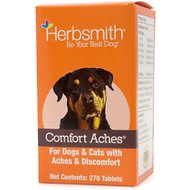 Herbsmith Herbal Blends Comfort Aches Tablets Dog & Cat Supplement, 270 count