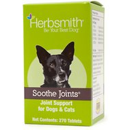Herbsmith Herbal Blends Soothe Joints Tablets Dog & Cat Supplement, 270 count