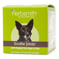 Herbsmith Herbal Blends Soothe Joints Powdered Dog & Cat Supplement, 150g jar