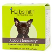 Herbsmith Herbal Blends Support Immunity Powdered Dog & Cat Supplement, 150g jar