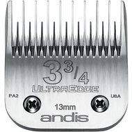 "Andis UltraEdge Skip Tooth Detachable Blade, #3 3/4, 1/2"" - 13 mm"