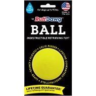 Ruff Dawg Indestructible Ball Dog Toy, 2.5-in