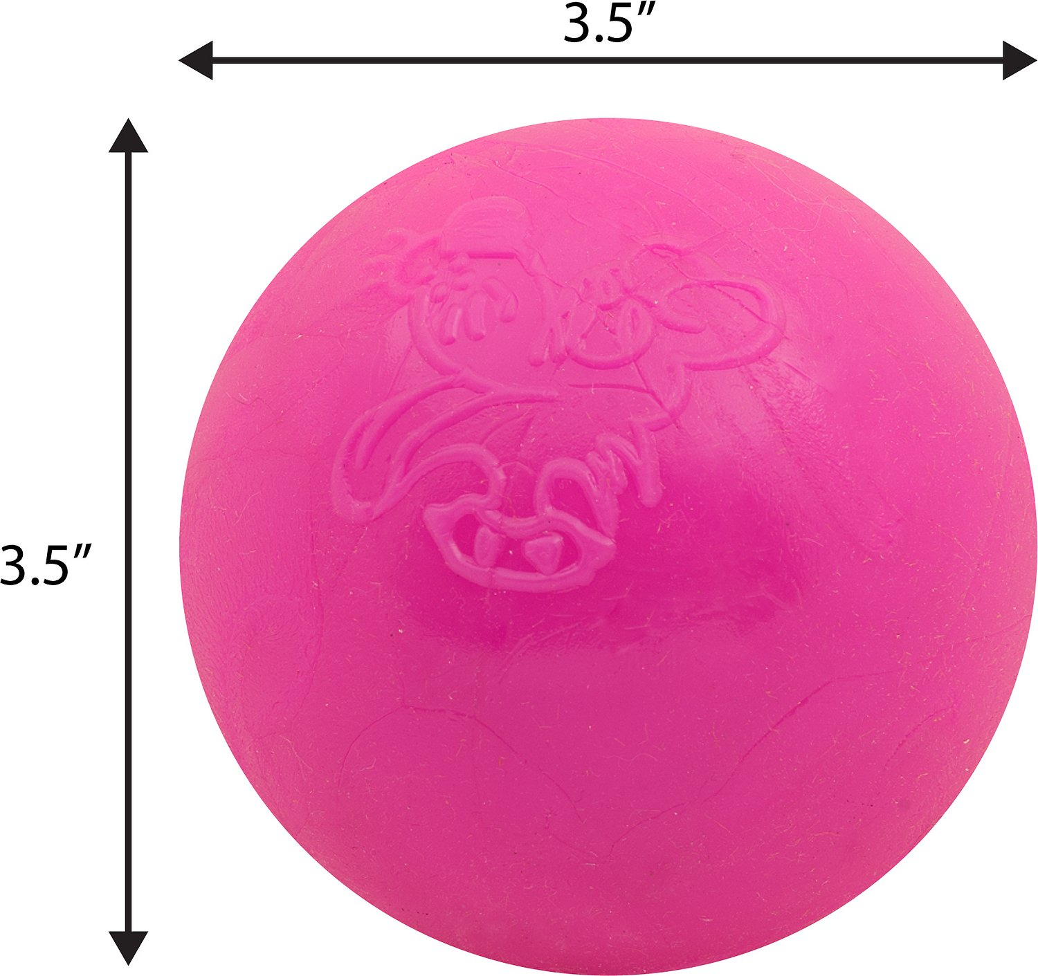 Ruff Dawg Indestructible Ball Dog Toy, 3.5-in - Chewy.com