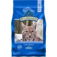 Blue Buffalo Wilderness Indoor Chicken Recipe Grain-Free Dry Cat Food, 5-lb bag