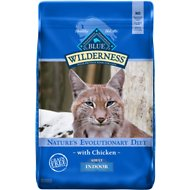 Blue Buffalo Wilderness Indoor Chicken Recipe Grain-Free Dry Cat Food, 11-lb bag