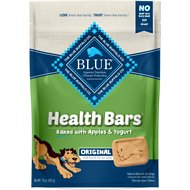 Blue Buffalo Health Bars Baked with Apples & Yogurt Dog Treats, 16-oz bag