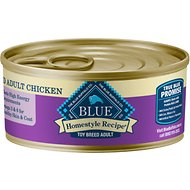 Blue Buffalo Homestyle Recipe Toy Breed Chicken Dinner Canned Dog Food
