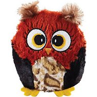 Ethical Pet Hoots Owl Plush Dog Toy, Color Varies, 3-in