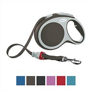 Flexi Vario Retractable Tape Dog Leash, Brown, X-Small, 10-ft