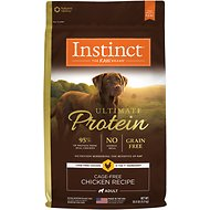 Instinct by Nature's Variety Ultimate Protein Grain-Free Cage-Free Chicken Recipe Dry Dog Food, 20-lb bag