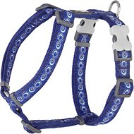 Red Dingo Designer Cosmos Dog Harness, Dark Blue, Medium