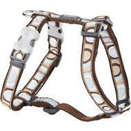 Red Dingo Designer Circadelic Dog Harness, Brown, Medium