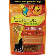 Earthborn Holistic EarthBites Cheese Flavor Natural Moist Treats For Dogs, 7.5-oz bag
