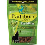 Earthborn Holistic EarthBites Grain-Free Chicken Meal Recipe Natural Moist Treats For Dogs, 7.5-oz bag