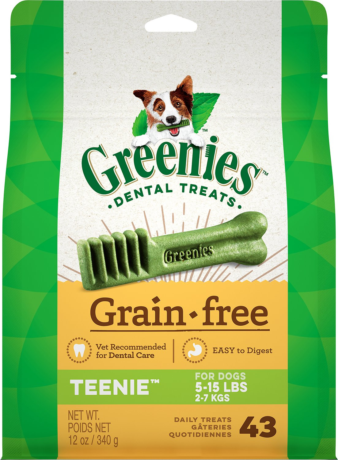 Greenies Grain-Free Teenie Dental Dog Treats