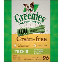 Deals on 96-Ct Greenies Grain-Free Teenie Dental Dog Treats