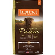Instinct by Nature's Variety Ultimate Protein Grain-Free Cage-Free Duck Recipe Dry Dog Food, 4-lb bag