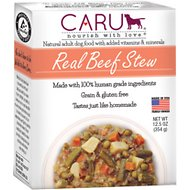 Caru Real Beef Stew Grain-Free Wet Dog Food, 12.5-oz, case of 12