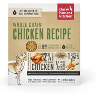 The Honest Kitchen Whole Grain Chicken Recipe Dehydrated Dog Food, 2-lb box