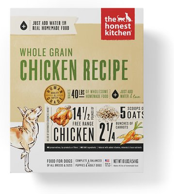 7. Honest Kitchen Whole Grain Recipes Dehydrated Dog Food