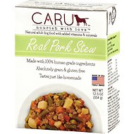 Caru Real Pork Stew Grain-Free Wet Dog Food, 12.5-oz, case of 12